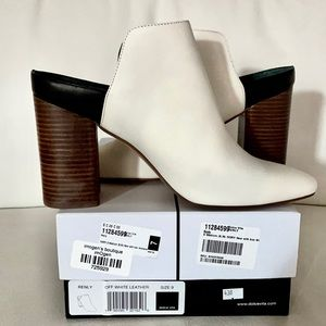 NWT 9 DOLCE VITA Renly ivory mule slip on leather